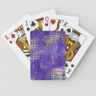 Cartes À Jouer Monoprint abstrait 1711305 cartes de jeu