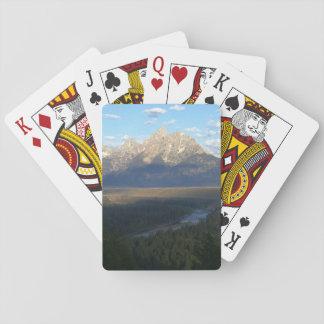 Cartes À Jouer Montagnes de Jackson Hole (parc national grand de