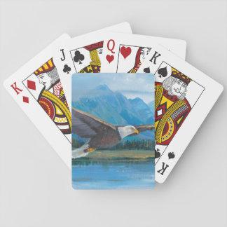 Cartes À Jouer Montée d'Eagle chauve