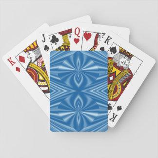Cartes À Jouer Motif bleu élégant frais