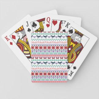Cartes À Jouer Motif mexicain de Frida Kahlo |