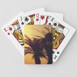 Cartes À Jouer Palmiers de cartes de jeu