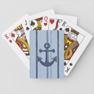 Cartes À Jouer Paquet de cartes de jeu d'ancre