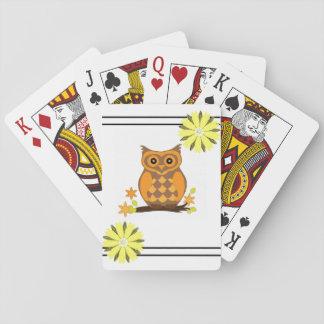 Cartes À Jouer Paquet de cartes de jeu de hibou