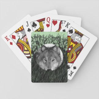 Cartes À Jouer Paquet de cartes de jeu de loup