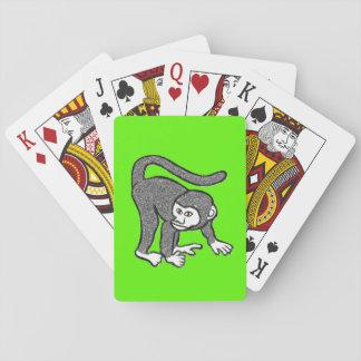 Cartes À Jouer Paquet de cartes de jeu de singe