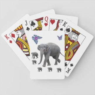Cartes À Jouer Paquet de cartes de jeu d'éléphant