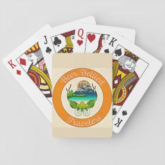 Cartes À Jouer Paquet de cartes gonflé par bière de voyageurs