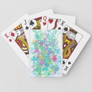 Cartes À Jouer Partie de griffonnage florale