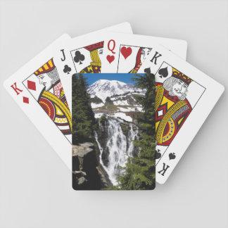 Cartes À Jouer Photo de cascade de montagne