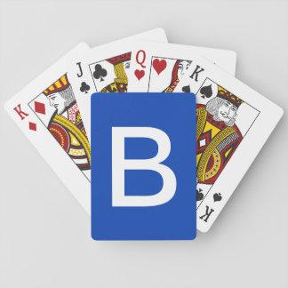 Cartes À Jouer Pile B