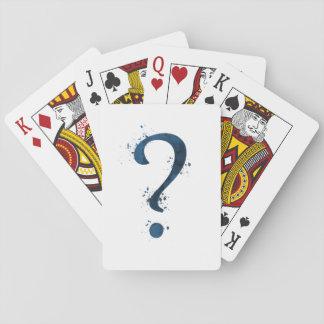 Cartes À Jouer Point d'interrogation