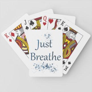Cartes À Jouer Respirez juste