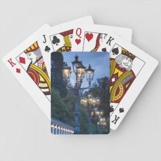 Cartes À Jouer Réverbères la nuit, Allemagne