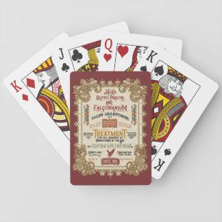 Cartes À Jouer Salon et Falconarium de Buteo de Jack O'Hares