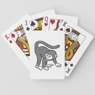Cartes À Jouer Singe payant le paquet de cartes