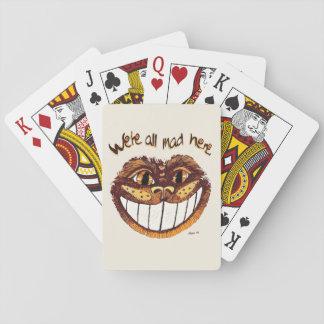 Cartes À Jouer Sourire fou de chat par Aleta