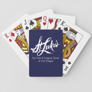 Cartes À Jouer St Luke aux cartes de jeu de villages