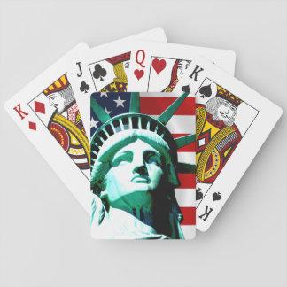 Cartes À Jouer Statue de la liberté, New York