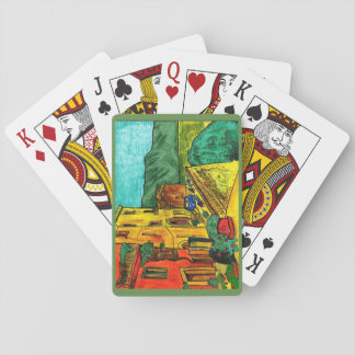 Cartes À Jouer Strada di Artisti - plate-forme des cartes de jeu