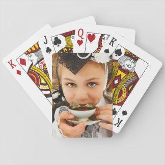 Cartes À Jouer Temps de thé