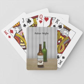 Cartes À Jouer Tisonnier et bière