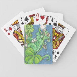 Cartes À Jouer Tisonnier IRLANDAIS de CARTES de JEU du DRAGON de