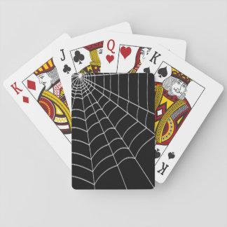 Cartes À Jouer Toile d'araignée