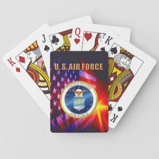 Cartes À Jouer U.S. Cartes de jeu classiques de l'Armée de l'Air
