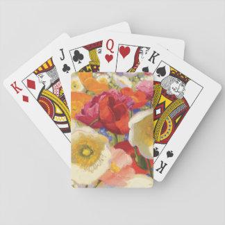 Cartes À Jouer Une abondance de fleurs