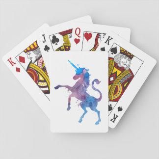 Cartes À Jouer Une licorne