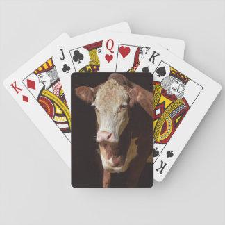 Cartes À Jouer Vache grincheuse