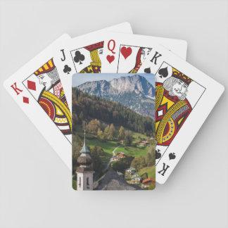Cartes À Jouer Village bavarois étrange, Allemagne