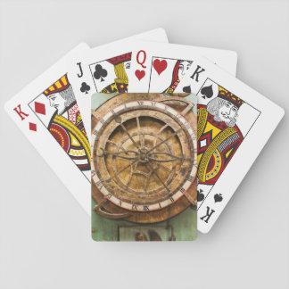 Cartes À Jouer Visage d'horloge antique, Allemagne