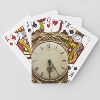 Cartes À Jouer Visage d'horloge du 19ème siècle, Allemagne