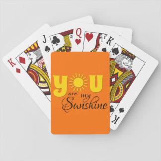 Cartes À Jouer Vous êtes mon soleil