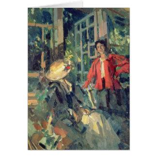 Cartes À la fenêtre, 1919
