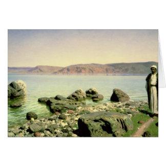 Cartes À la mer de la Galilée, 1888