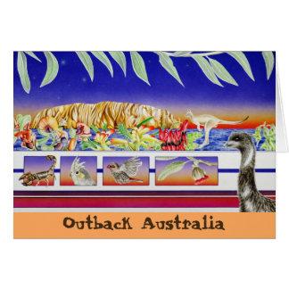 Cartes À l'intérieur l'Australie