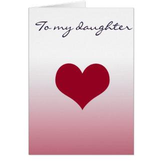 Cartes À ma fille