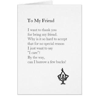 Cartes À mon ami