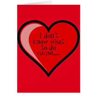 Cartes A obtenu mon coeur Valentine