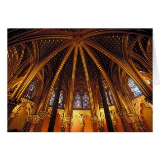 Cartes Abaissez la chapelle de la La Sainte-Chapelle,