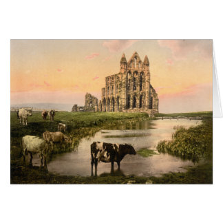 Cartes Abbaye III, Whitby, Yorkshire, Angleterre de