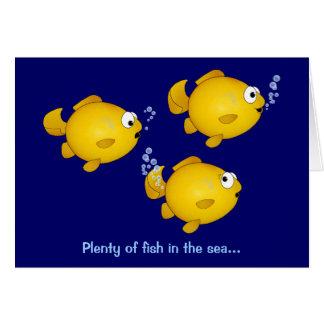 Cartes Abondance des poissons en mer, abondance des