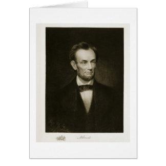 Cartes Abraham Lincoln, 16ème président de la stat unie