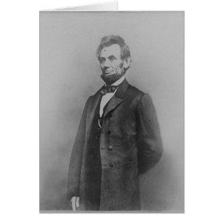 Cartes Abraham Lincoln, janvier 1864