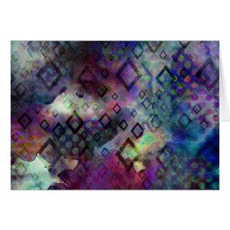 Cartes Abrégé sur coloré orageux aquarelle avec des