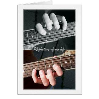 Cartes Abrégé sur ficelles de guitare