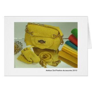 Cartes Accessoires de mode de poupée de Matisse (#1)